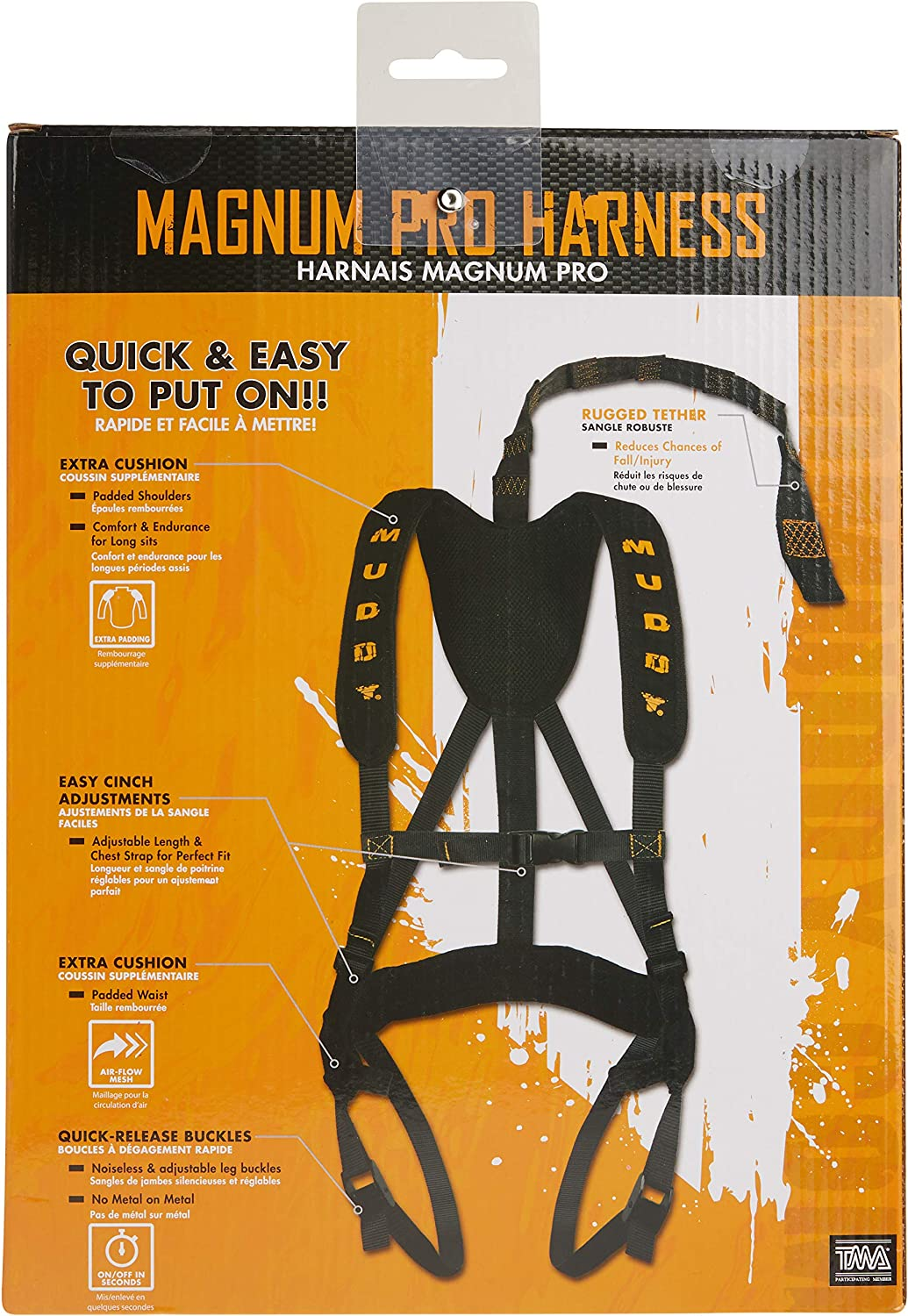 Muddy Magnum Pro Harness : Sports & Outdoors