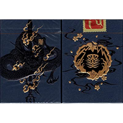 Sumi Playing Cards EPCC - Grandmaster & Artist (Grandmaster (Black)): Toys & Games