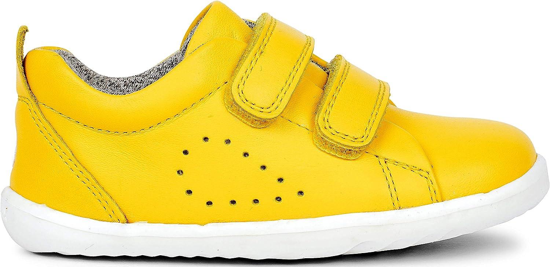 Bobux Step Up Grass Court Trainer/_Primeros Chaussures de Sport pour b/éb/é en Cuir
