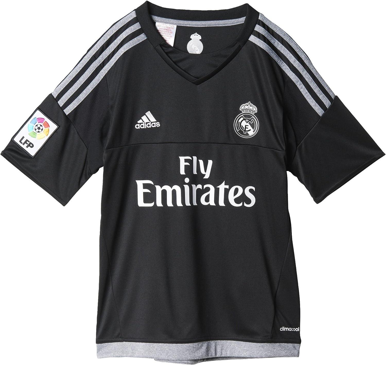 Adidas Equipación Real Madrid CF - Camiseta oficial adidas de portero para niños: Amazon.es: Ropa y accesorios