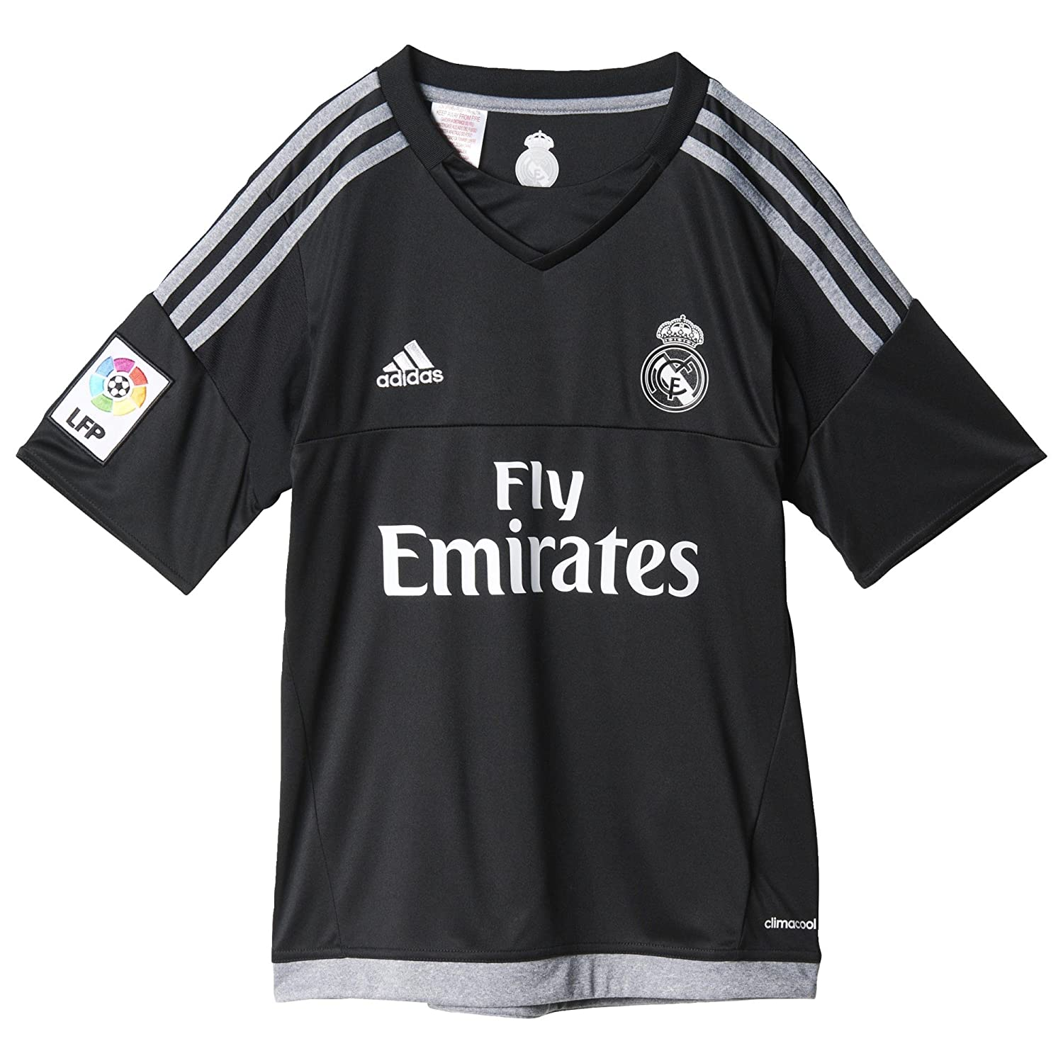 adidas maillot de gardien de but pour enfant aux couleurs du real madrid ebay. Black Bedroom Furniture Sets. Home Design Ideas