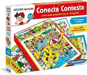 Clementoni - Conecta Contesta, juego educativo (653805) , color/modelo surtido: Amazon.es: Juguetes y juegos