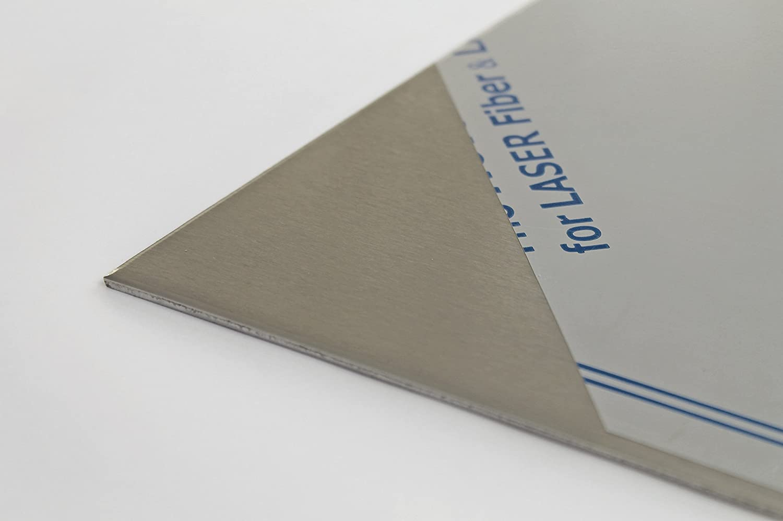 1,5 mm stark B/&T Metall Edelstahl V2A Blech-Zuschnitt geschliffen K240 foliert Gr/ö/ße 25 x 30 cm 250 x 300 mm
