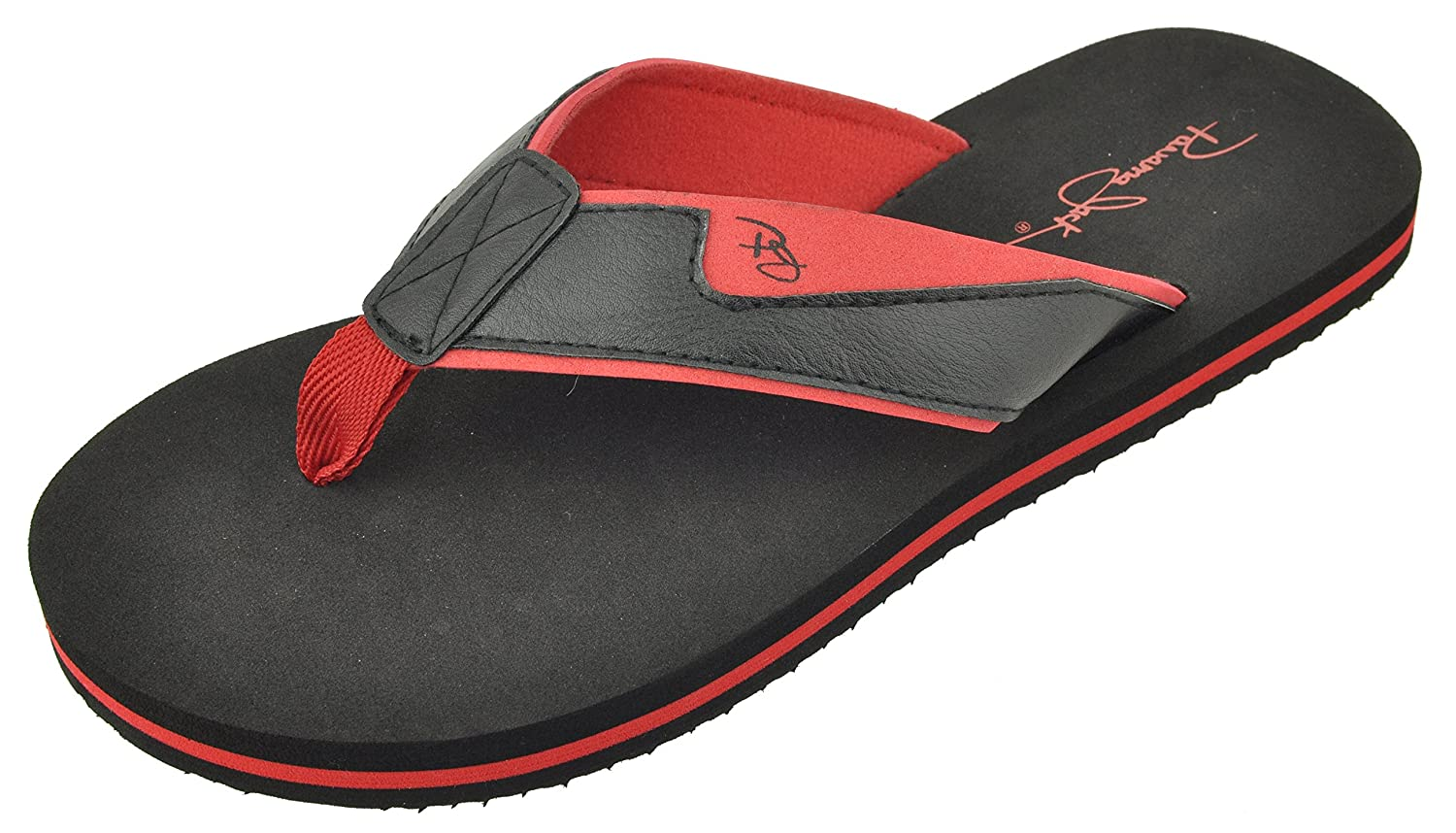 Panama Jack Men's Classic Casual Beach Time Sport Flip Flop Sandals, Size 8 to 13