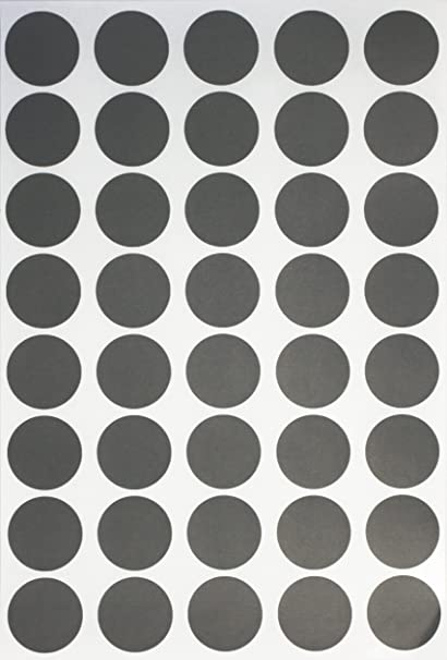 Color coding labels dot sticker round stickers grey 19mm 1000 pack by royal green