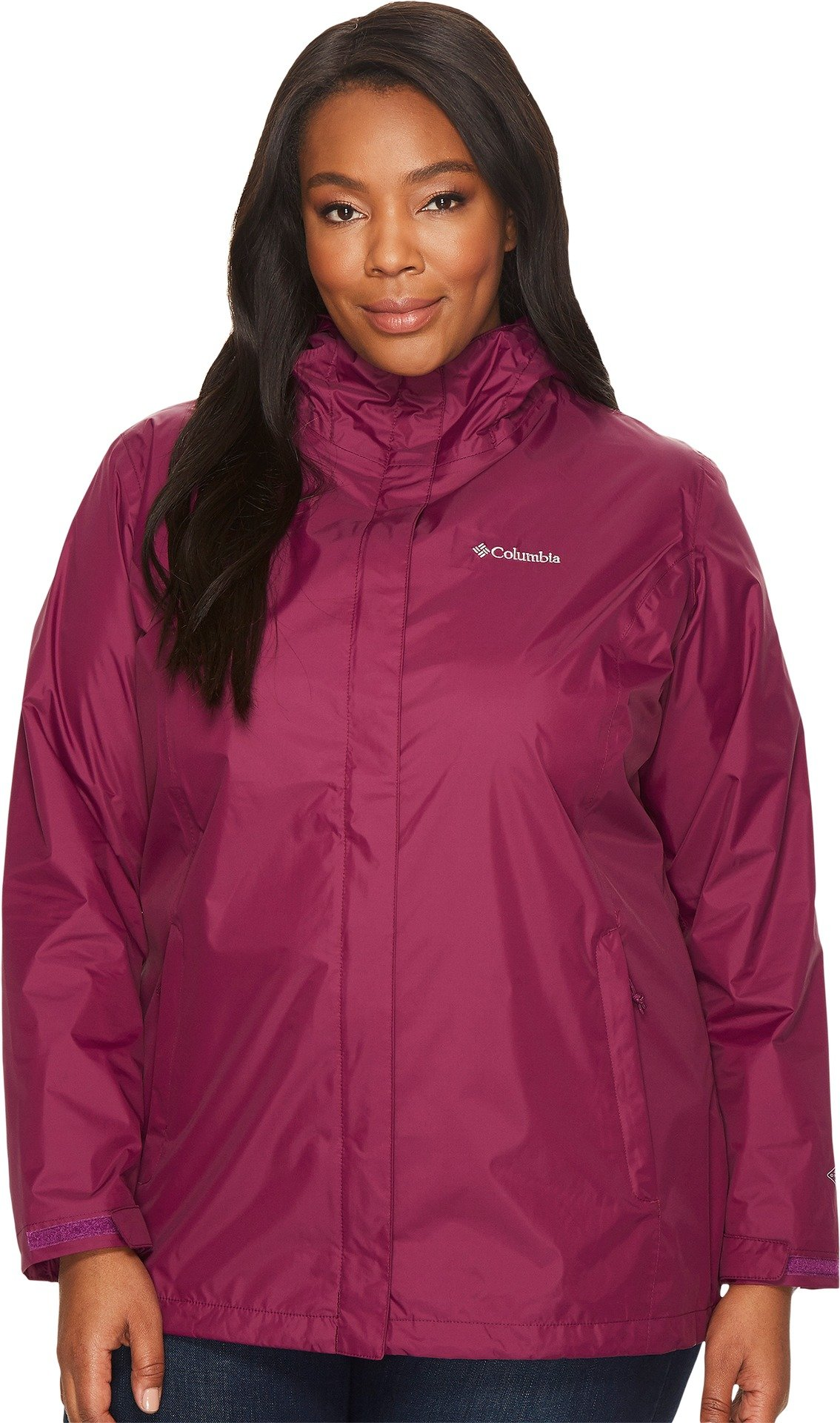 Columbia Women's SizeArcadia Plus Size Arcadia II Jacket, Dark Raspberry, 3X