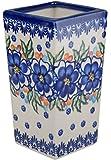 Classic Boleslawiec Pottery Hand Painted Ceramic Flower Vase 400ml, 510-U-097