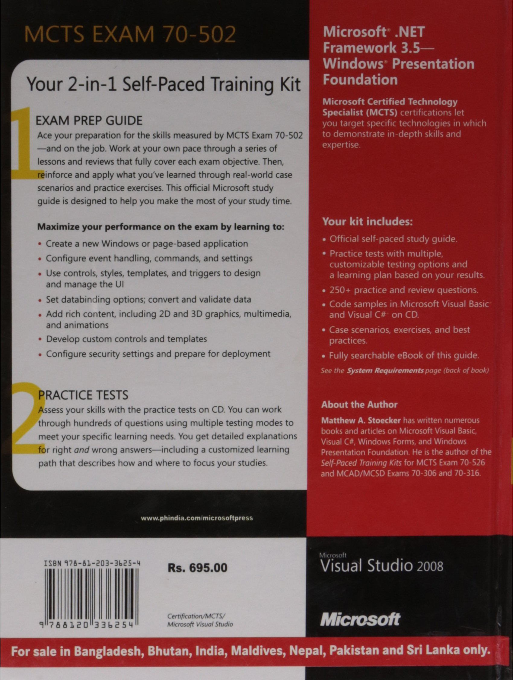 Mcts Self Paced Training Kit Exam 70 502 Microsoft
