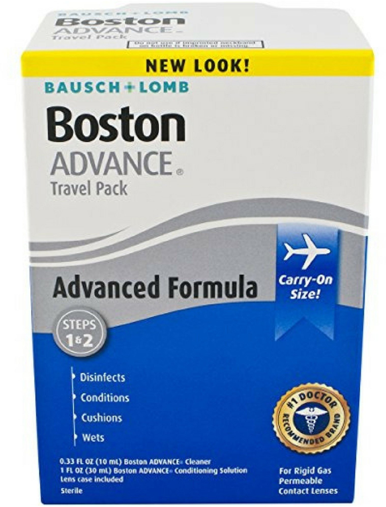 Bausch & Lomb Boston Advance Travel Pack-1.35 oz, 2 pack