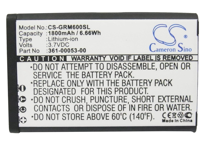 Alpha 100 handheld Montana 600t Camo 1800mAh Replacement 361-00053-00 Battery For Garmin Montana 600 600T 650 650T Monterra