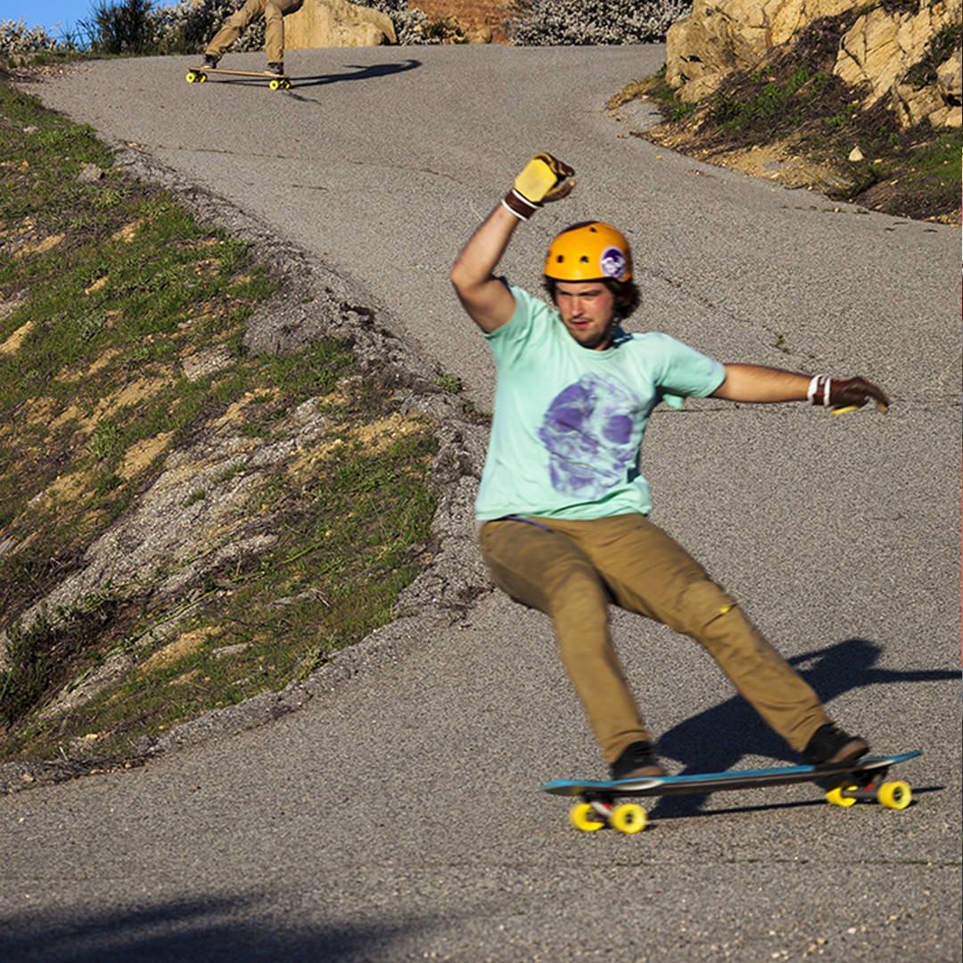 Orangatang 4 President 70 mm Cruising Longboard Skateboard Wheels Set of 4