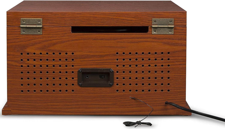 Amazon.com: Crosley cr42d-pa Lancaster 3-speed Turntable con ...