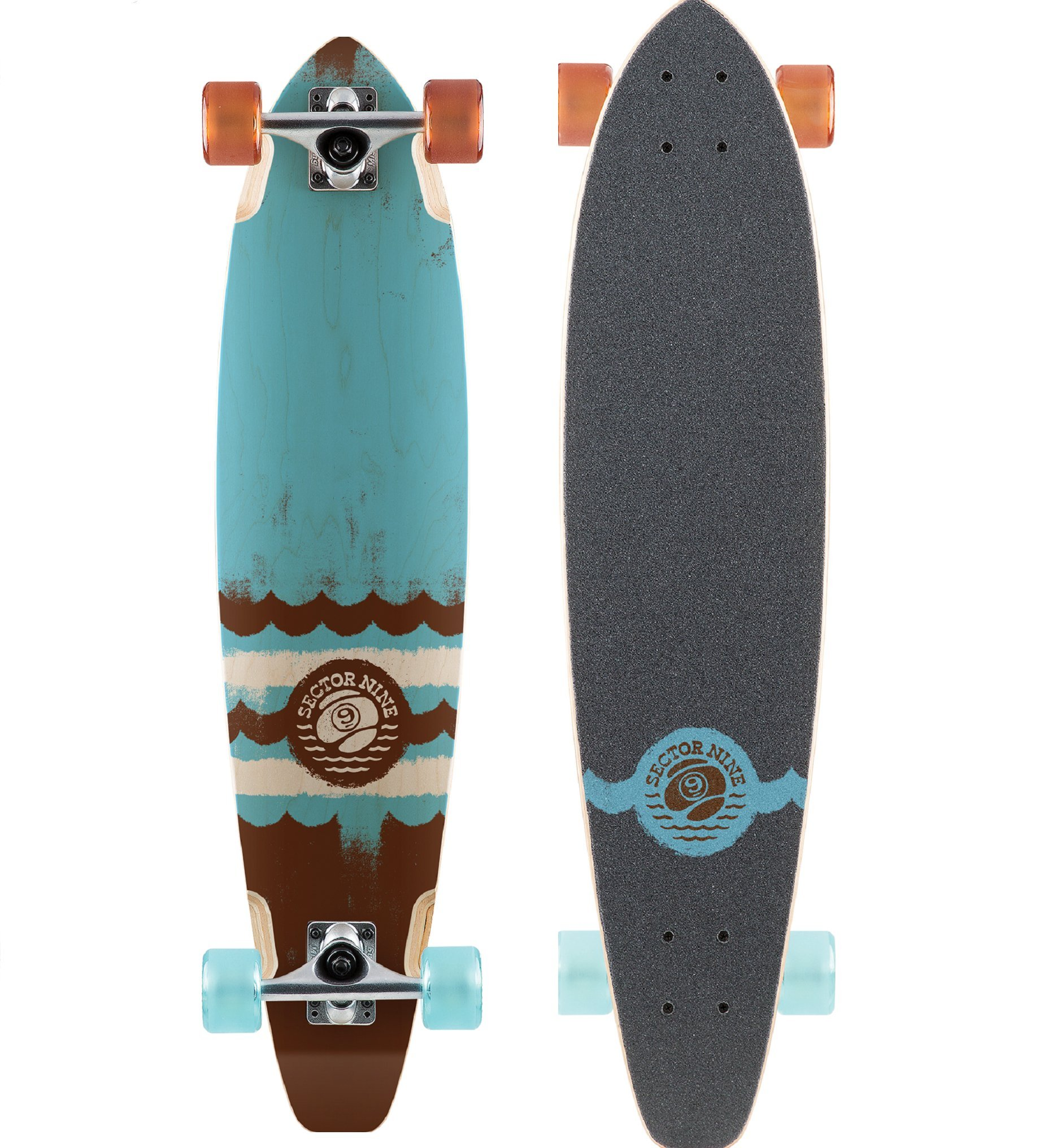 Sector 9 Classic Series Highline 34.5'' Complete Longboard - Blue