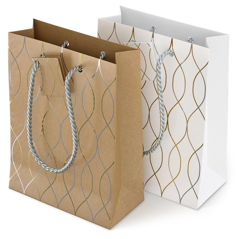 Amazon.com: Glogex - Bolsas de papel de regalo: Arte ...