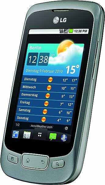 LG P500 - Smartphone libre Android (pantalla táctil de 3