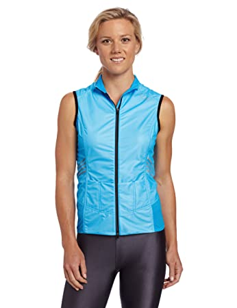 Gore Running Wear Mens Magnitude 2.0 Active Shell Lady Vest, Waterfall Blue, Small