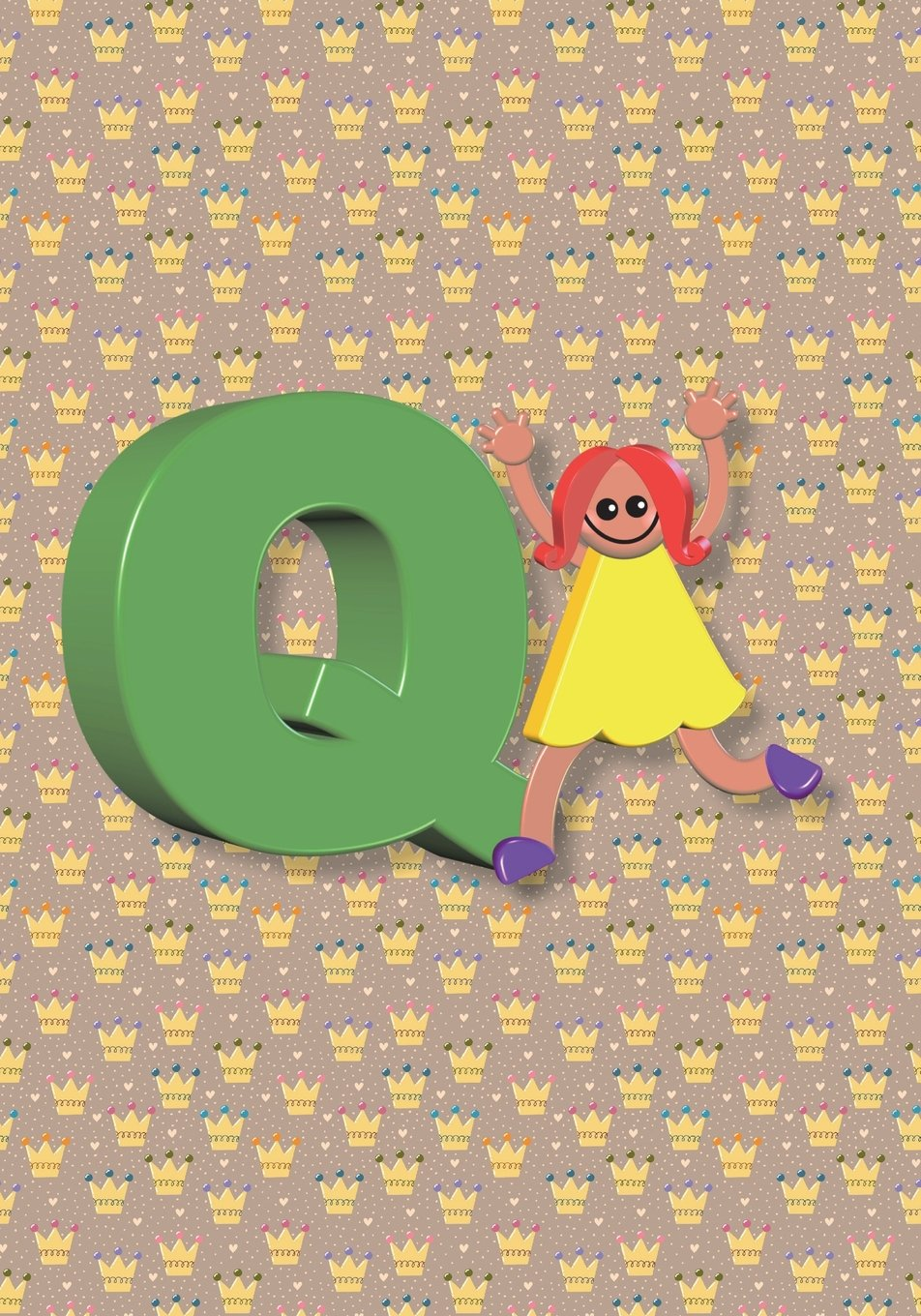 Download Q Notebook: Back To School Notebooks, Soft Paperback, Cute College Ruled Notebook - Journal Or Diary Notebook for Girls ebook