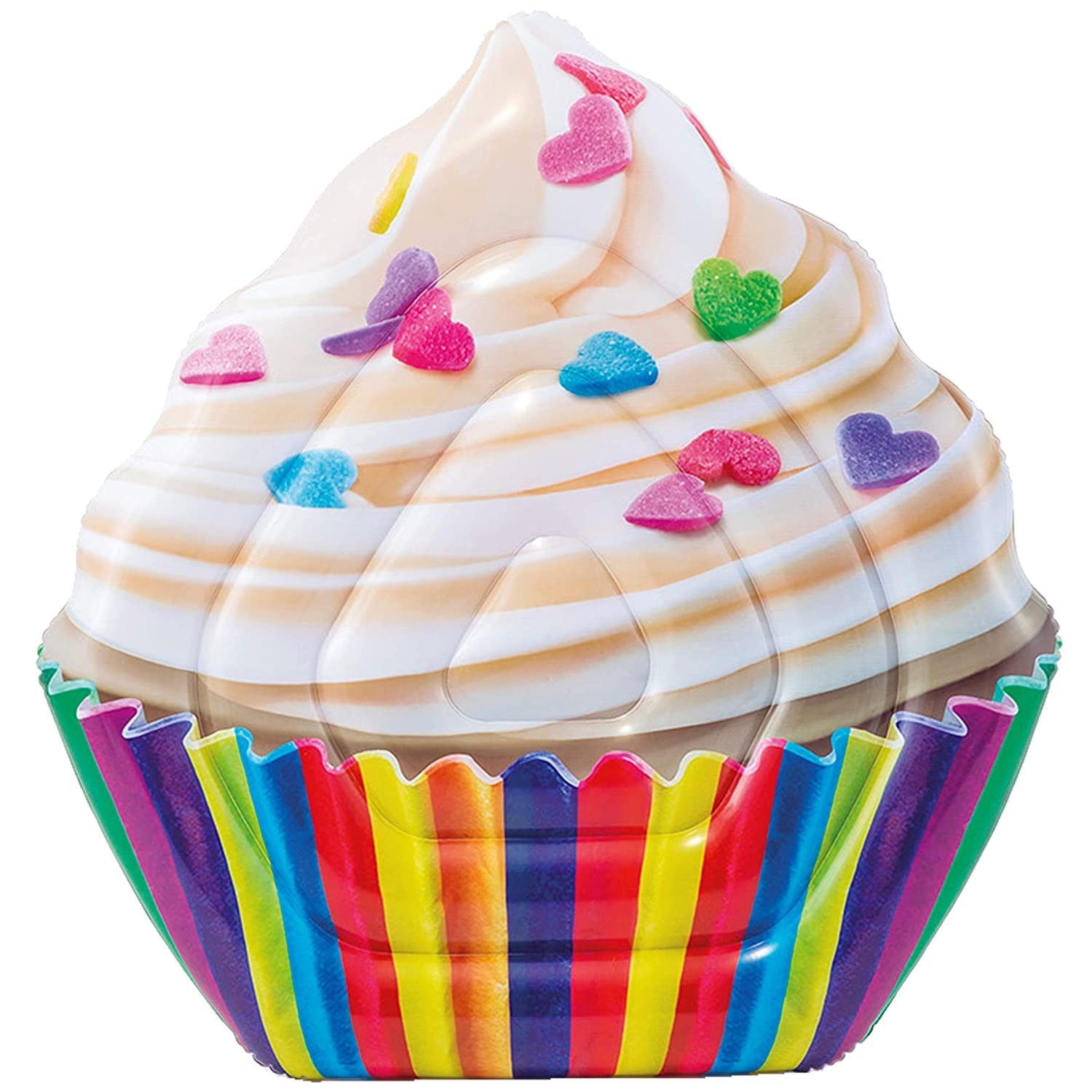 Intex 58770EU - Colchoneta Hinchable Cupcake fotorrealista: Amazon ...