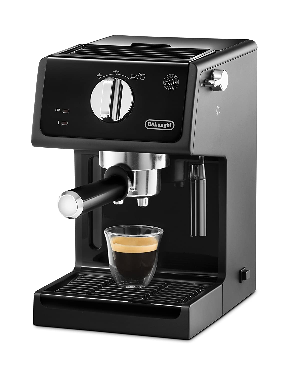 DeLonghi ECP31.21 Italian Traditional Espresso Coffee Maker, Black (Certified Refurbished)