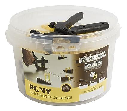 Pony PYKIT Sistema de Nivelación Transparente 1 mm