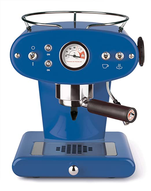 illycaffè Francis X1 Black Máquina de café Espresso, Metal, Negro: Luca Trazzi: Amazon.es: Hogar
