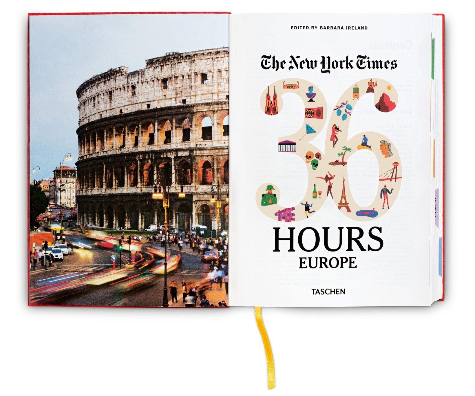 The New York Times: 36 Hours Europe: Amazon.de: Barbara Ireland ...