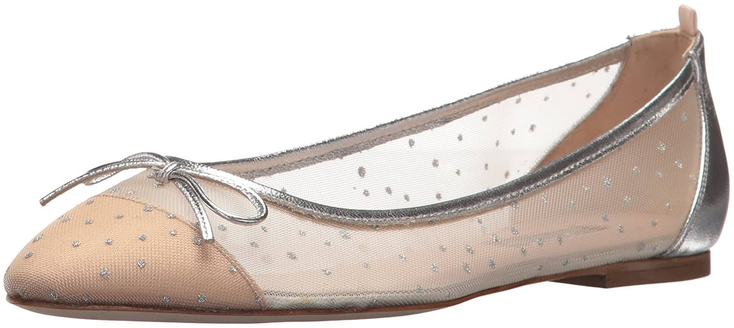 SJP by Sarah Jessica Parker Women's First Dance Ballet Flat B07215HHY7 38.5 B EU (8 US)|Ivey Raindrops Fabric