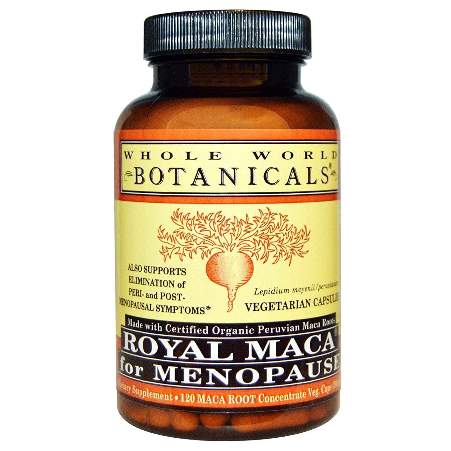 Oraganic Royal Maca Whole World Botanicals 120 VCaps: Amazon.es: Salud y cuidado personal