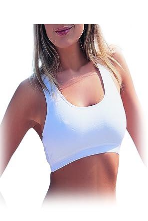 watch 2a848 15b12 mh-underwear Damen Bustier- BH- Ohne Bügel- Damen Sport Bustier-  Baumwolle-MODAL Qualität