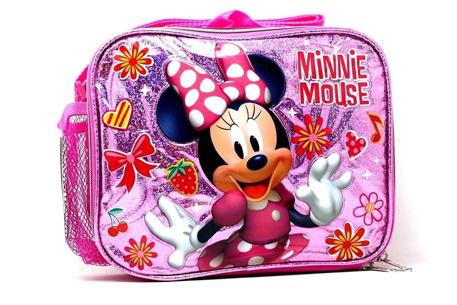 Minnie Mouse Girls Pink Insulated Lunch Bag