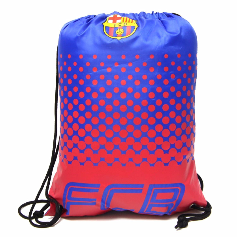 FCバルセロナ フットボールクラブ FC Barcelona オフィシャル商品 ナップサック ジムバッグ B071XGJTHY ブルー/レッド ワンサイズ