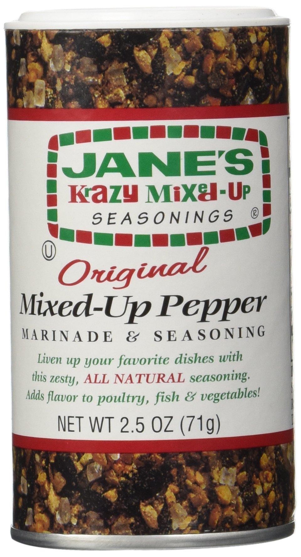 Jane's Original Krazy Mixed-Up Pepper - 2.5 oz.