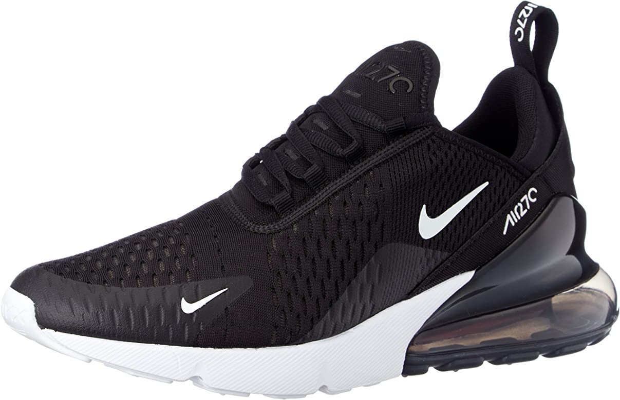 Buy Off White x Nike Air Max 270 Flyknit BlackWhite Shoes