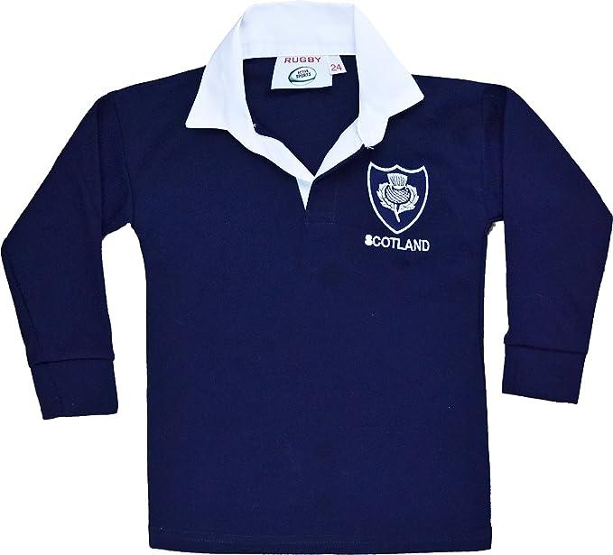 Diseño con bandera de Escocia infantil con forma de camiseta de ...