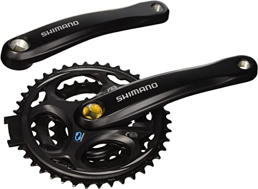 Shimano Altus 7/8 Velocidad Montaña para Bicicleta Bielas – Negro ...