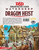 Gale Force Nine D&D Waterdeep Dragon Heist DM Screen RPG