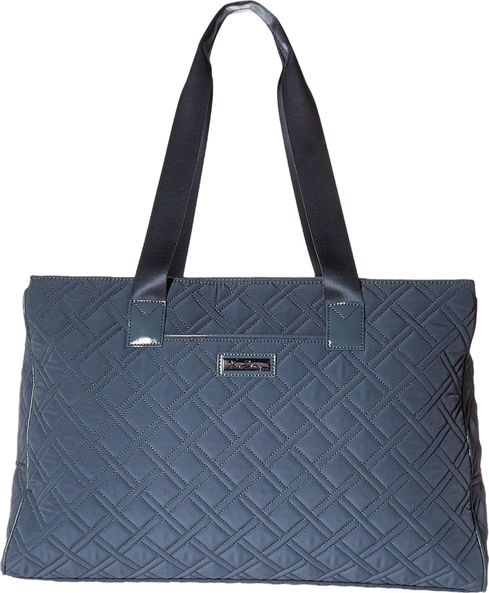 Vera Bradley Luggage Women's Triple Compartment Travel Bag Charcoal/Gray Travel Tote by Vera Bradley (Image #1)