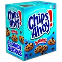 Chips Ahoy! Minis- Galleta con gotas de chocolate, 160 g - [pack de 4]