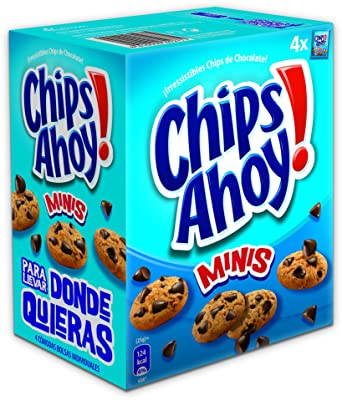 Minis- Galleta con gotas de chocolate, 160 g