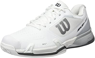 Wilson Men's Wrs322650 Tennis Shoes, Off White (White/Pearl Blue