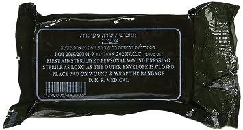 Idf Israeli Army Dressing Bandage Amazon Co Uk Health Personal