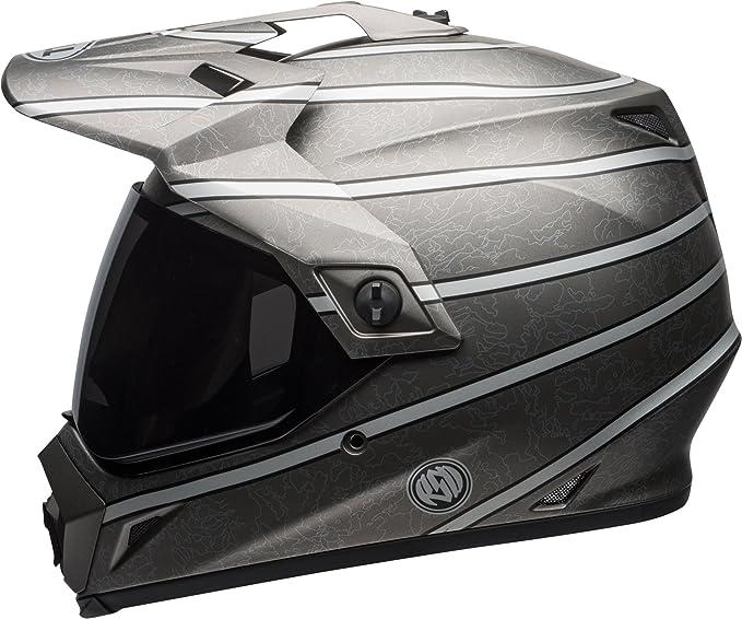 Bell Aventura RSD Adulto MX-9 Casco de Motocicleta - Negro, RSD Titanium: Amazon.es: Deportes y aire libre