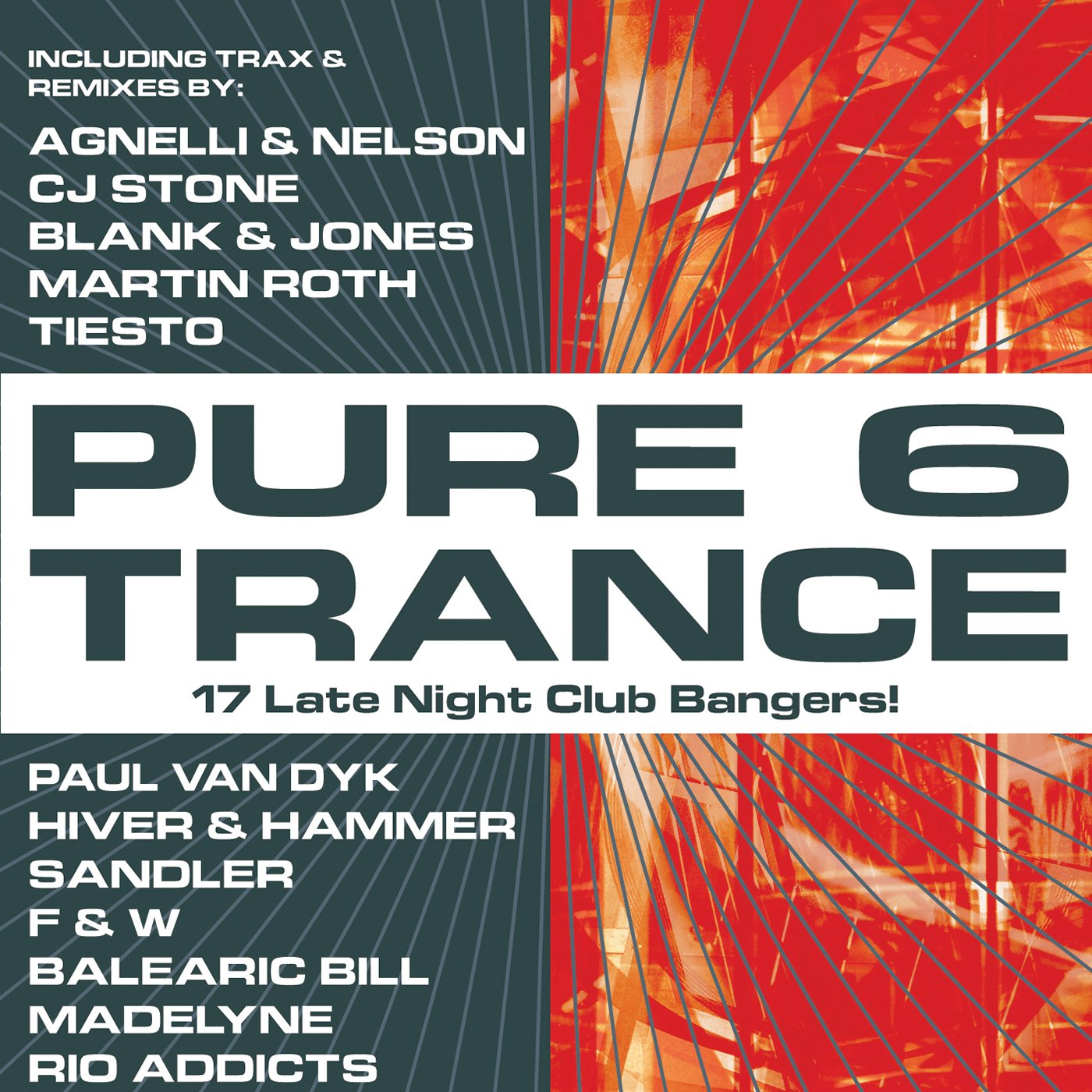 CD : Pure Trance - Pure Trance, Vol. 6 (CD)
