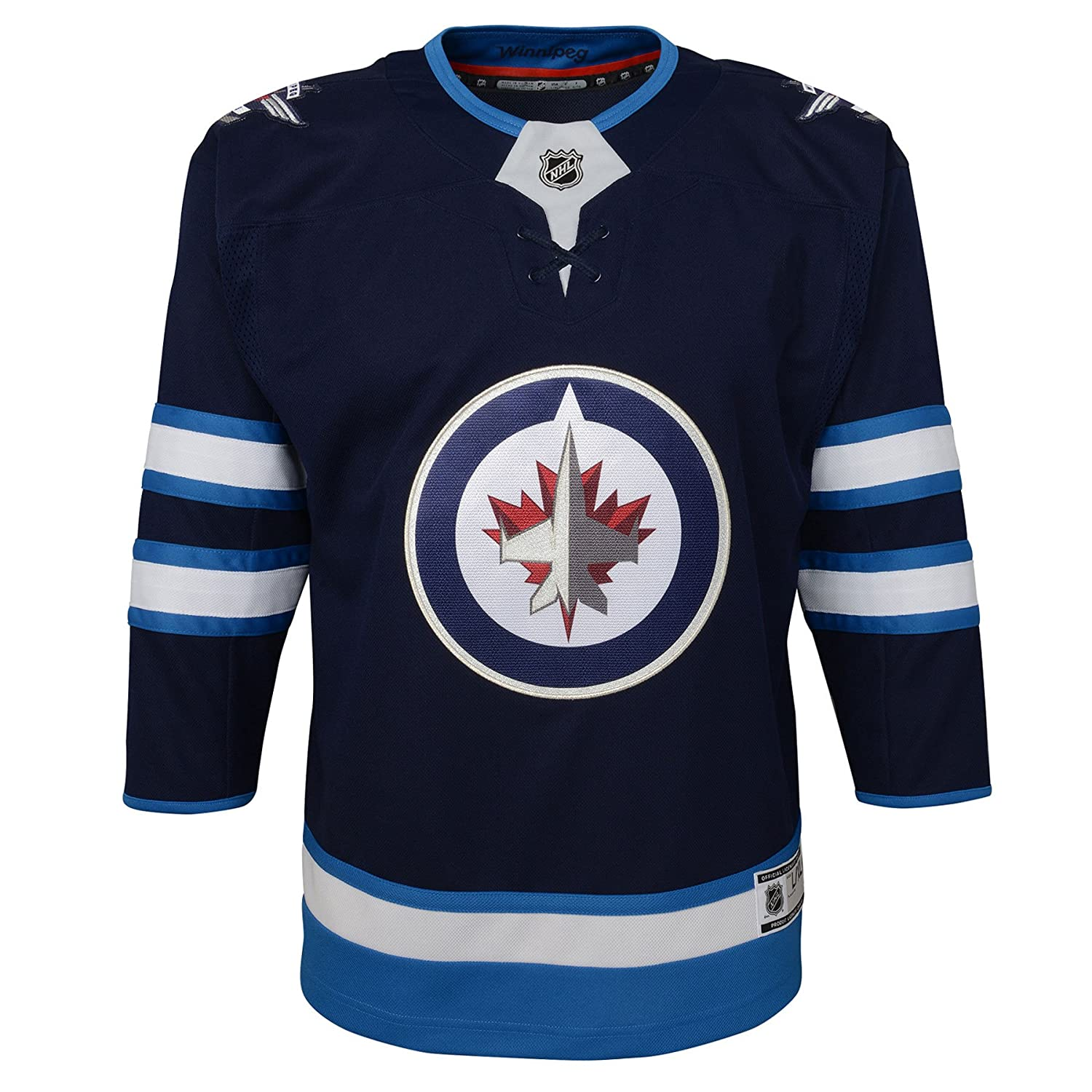 Winnipeg Jets Toddler Premier Home Jersey - Size 2T/4T Outerstuff