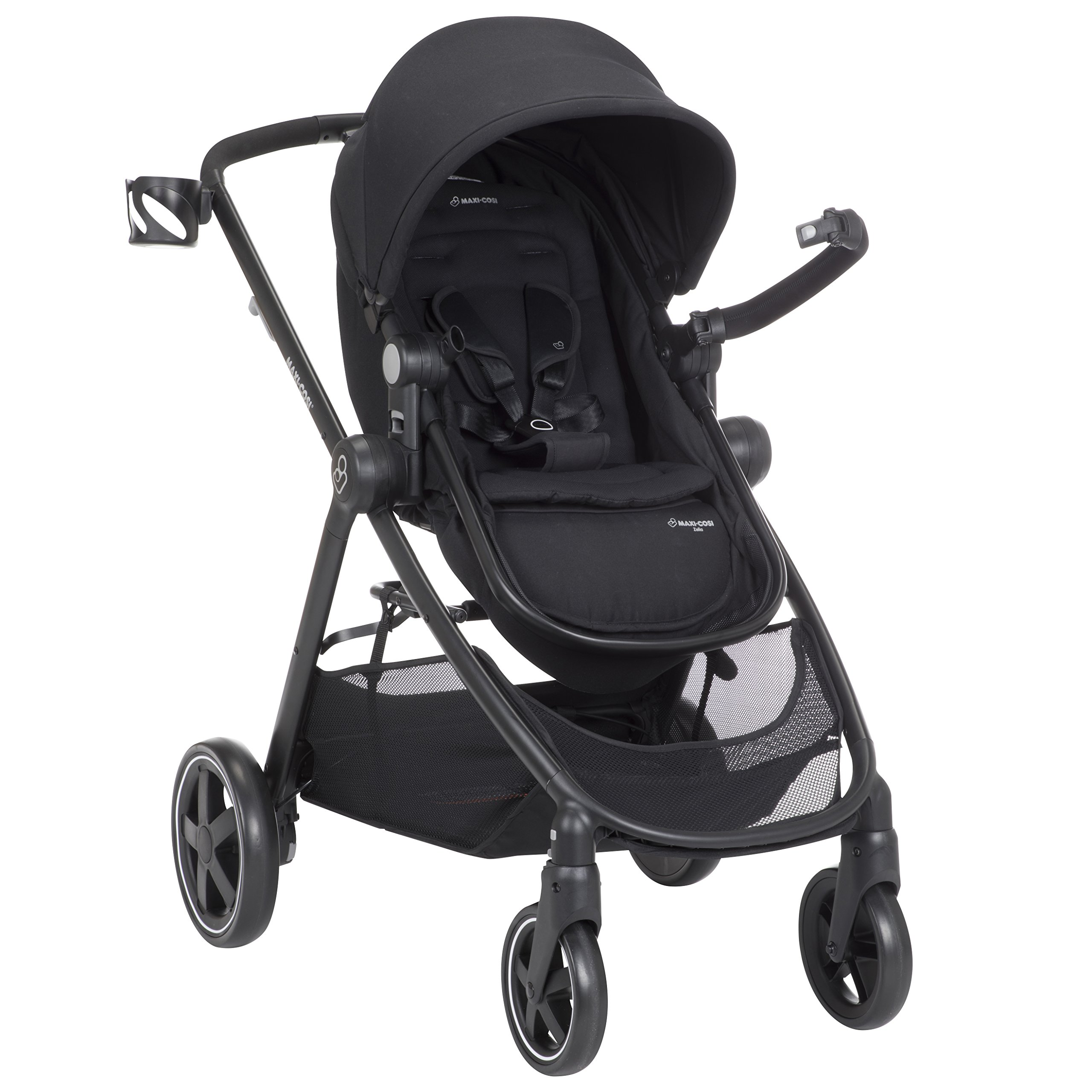 Maxi-Cosi Zelia 5-in-1 Modular Travel System Stroller and Mico 30 Infant Car Seat Set (Night Black) by Maxi-Cosi (Image #9)