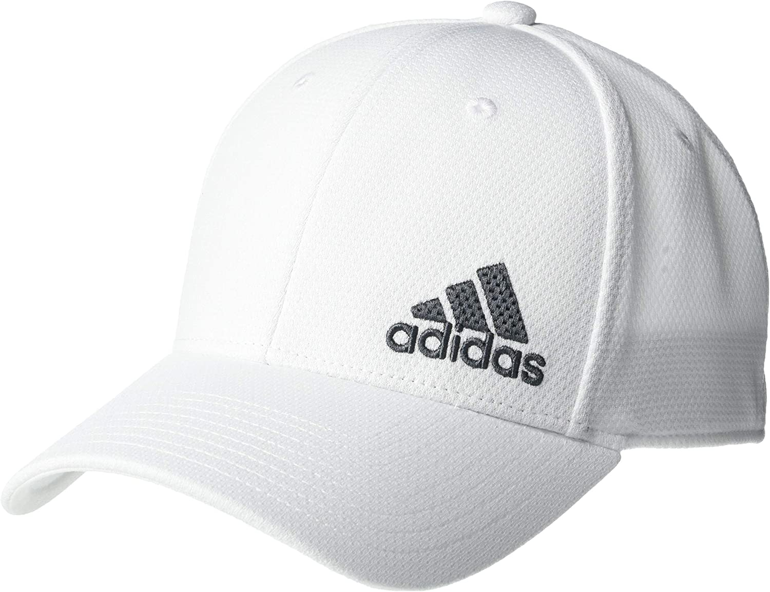 adidas Mens Release II Stretch Fit Structured Cap