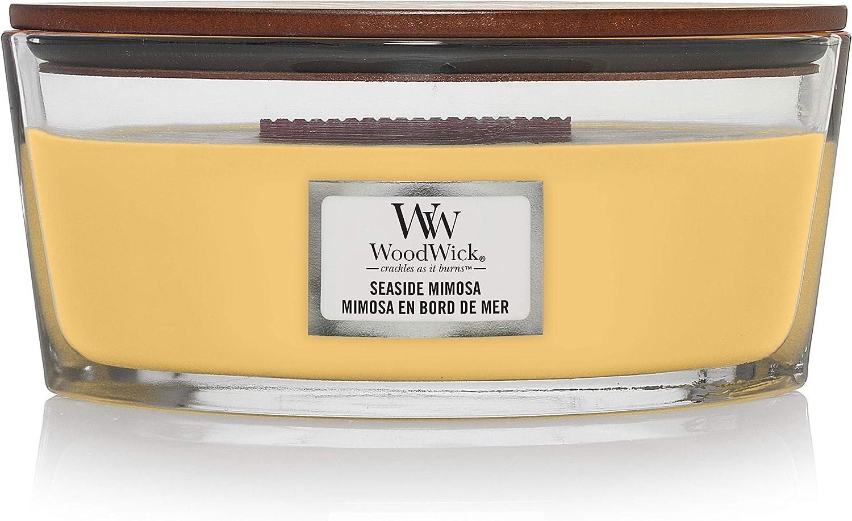 WoodWick Seaside Mimosa Hearthwick Ellipse Candle 16 oz.