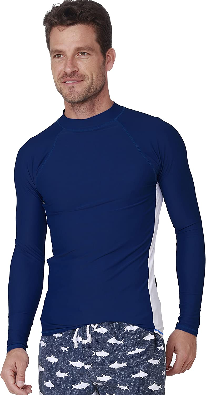 INGEAR Long Sleeve Rash Guard Swim Tee Surfing Shirt UPF 50+ Beachwear Sport Swimwear