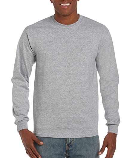Gildan Men s Ultra Cotton Jersey Long Sleeve Tee  298214bd4dc