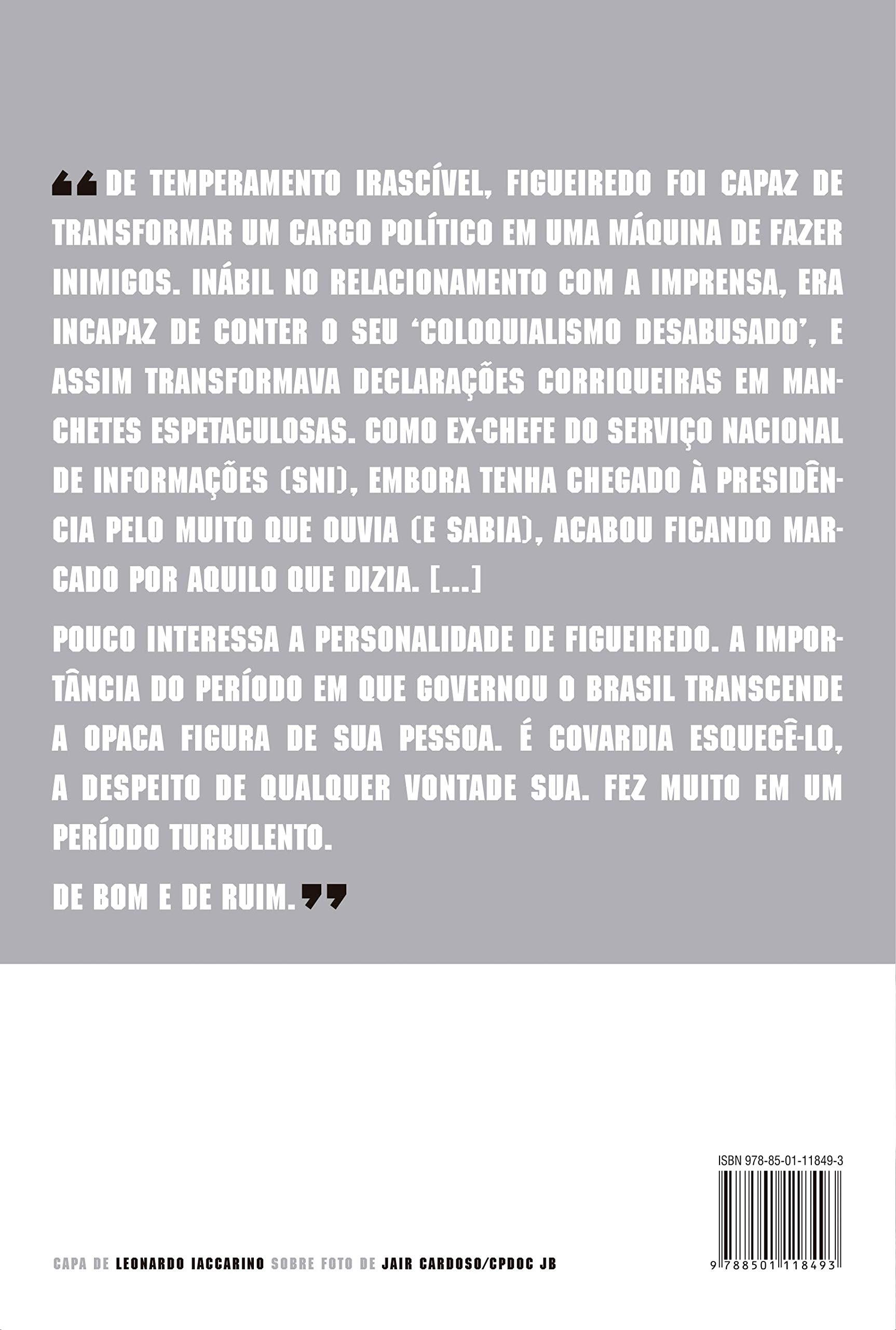 Livro 'Me esqueçam: Figueiredo' por Bernardo Braga Pasqualette